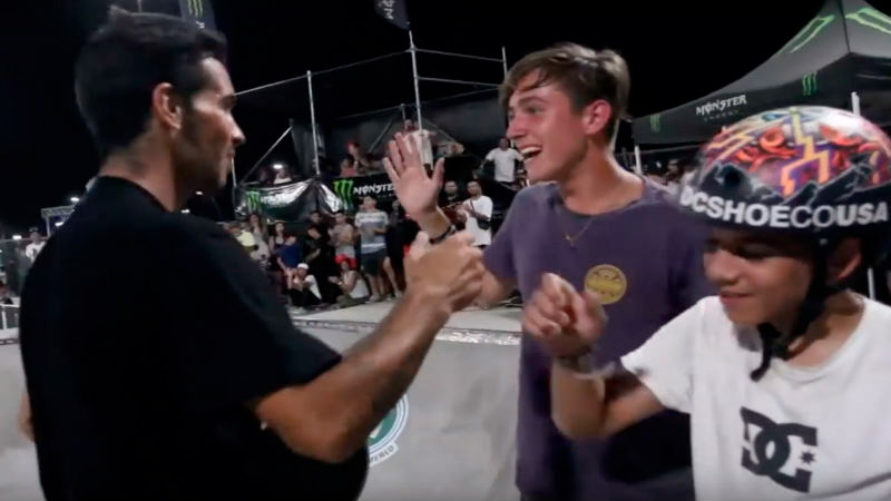 El team DC Shoes Argentina brilló en la final del Skate Summer Tour