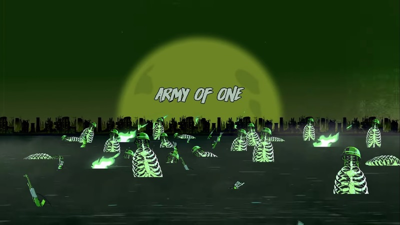 "The Offspring reveló lyric video de ""Army Of One"""