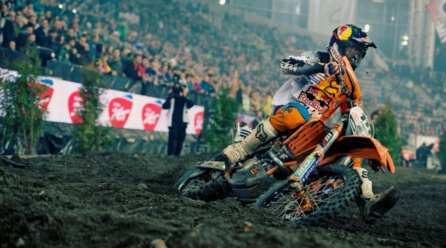 Taddy Blazusiak performs during the Super Enduro World Championship in Lodz, Poland on December 8th 2012  // Lukasz Nazdraczew/Red Bull Content Pool // P-20121210-00262 // Usage for editorial use only // Please go to www.redbullcontentpool.com for further information. //
