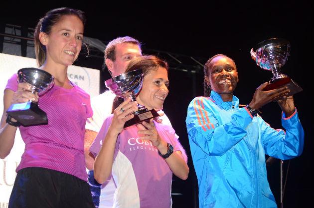 AMEX 8K NOCTURNA podio mujeres