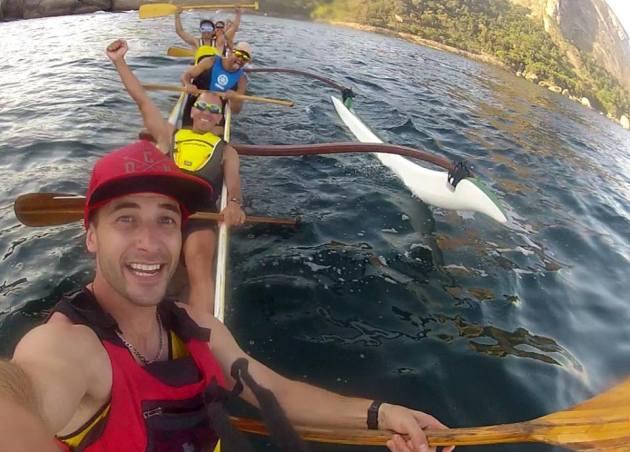 Argentina Canoa Polinesia Rocky Man