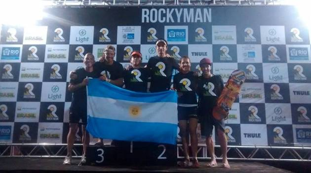Argentina Podio Rocky Man