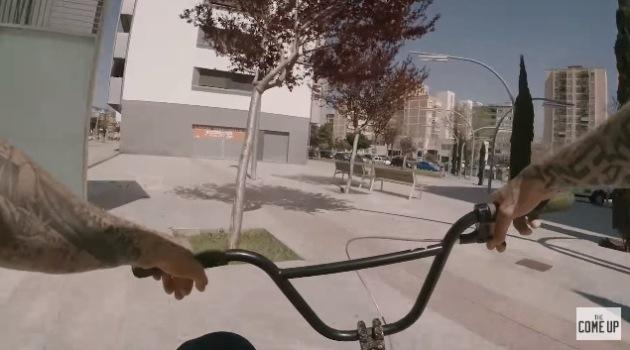 BMX Mike Hoder