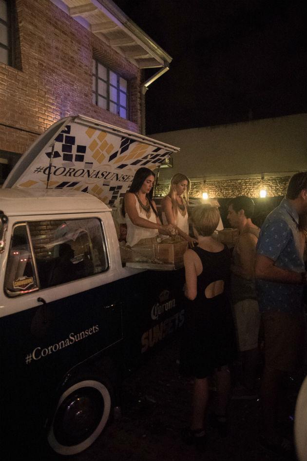 Corona II Opening Party