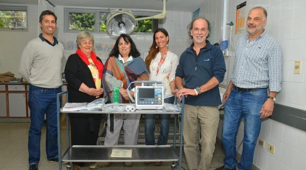 El Nuevo equipamiento en la sala de emergencias del Hospital Ramon Carrillo AC_9317