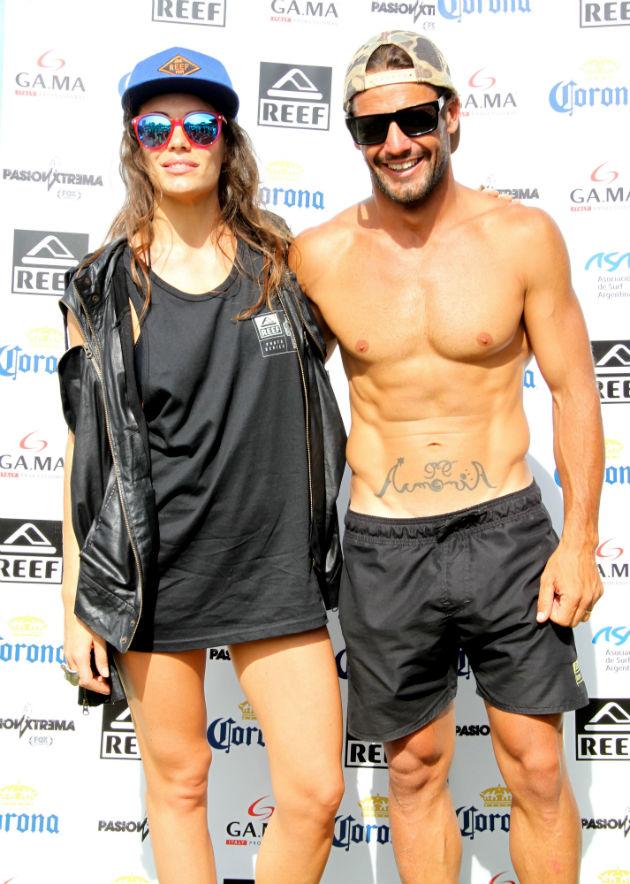 Emilia Attias y Martin Passeri