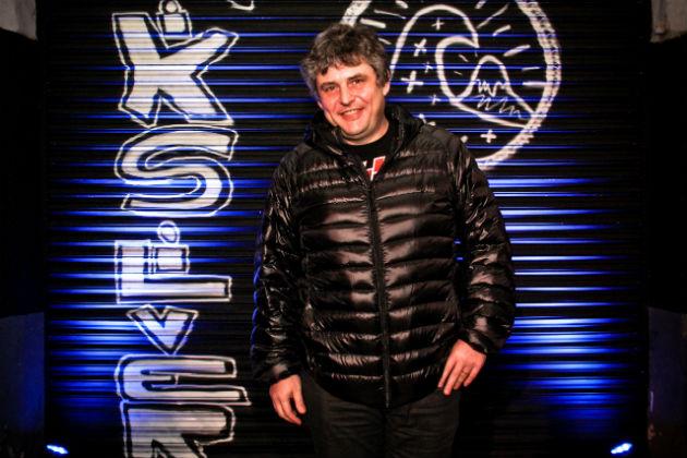 Gabriel Schultz estuvo presente y disfruto de la presentacion de la nueva coleccion de Quiksilver Modern Originals