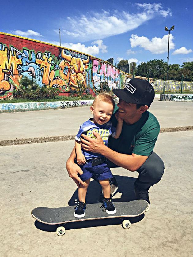 Galo y MP en Mataderos skatepark