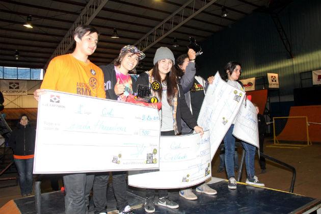 Ganadora Camila Harambour Austral BMX Contest 7