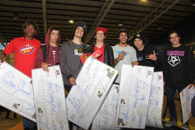 Ganadores Austral BMX contest 7