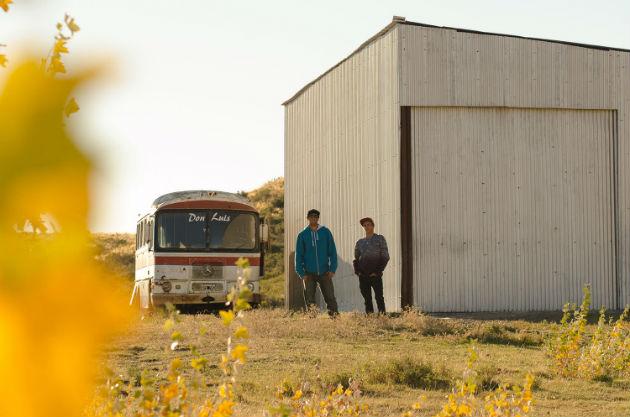 Junto a Lucca Saldivar de Peru en Patagonia