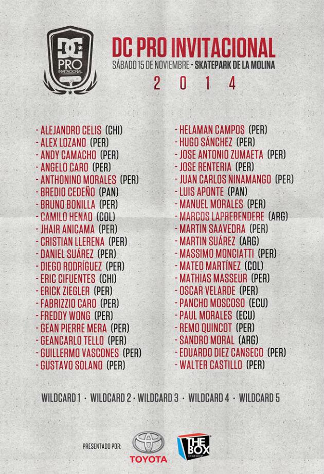 Lista de skaters