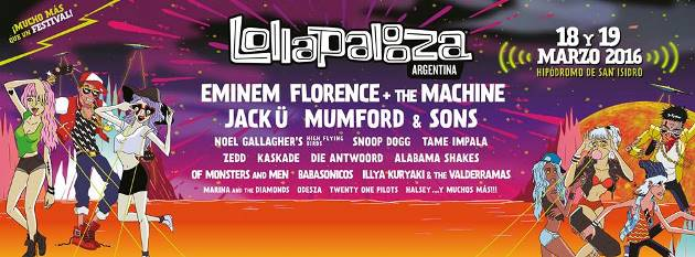 Lolla Arg final