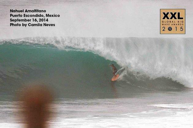 Nahuel Amalfitano - Billabong XXL Global Big Wave Awards 2015