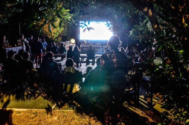 Sector cine bajo las estrellas