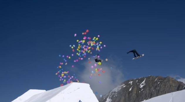 Snowboard Globos