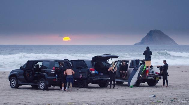 Sunset en Arica dia 2 team completo