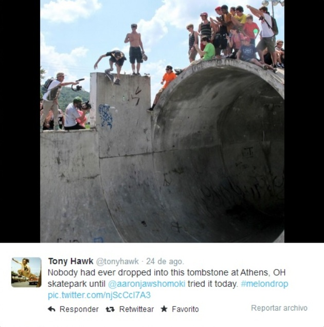T Hawk Atenas Tweet