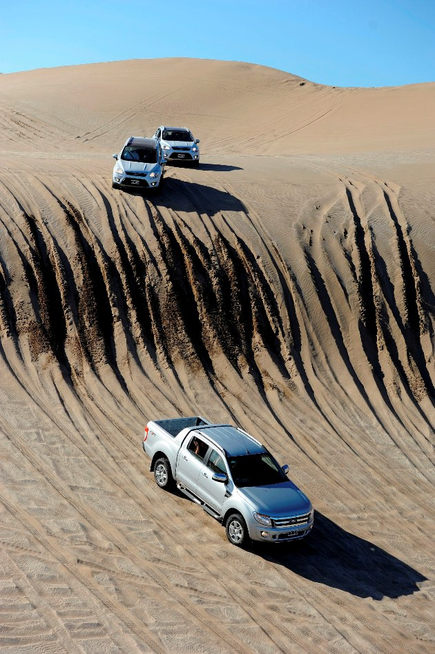 Test Drive dunas