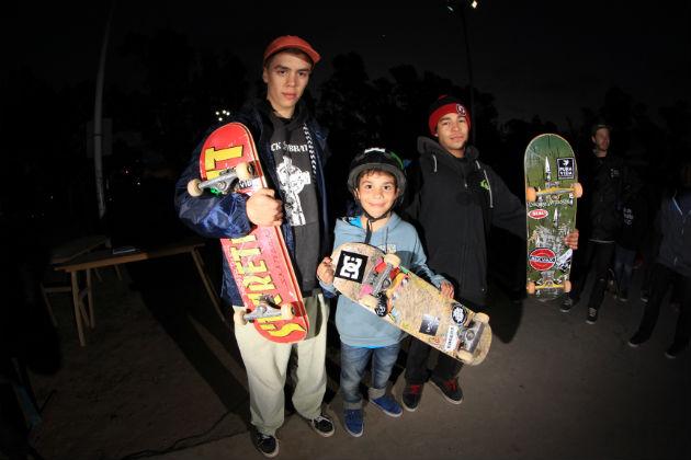 ganadores principiantes mayores