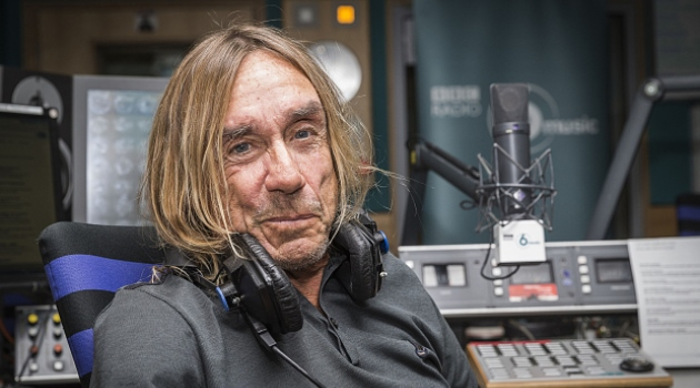 Programme Name: BBC Music Peel Lecture - TX: n/a - Episode: n/a (No. n/a) - Picture Shows:  Iggy Pop - (C) BBC - Photographer: Guy Levy