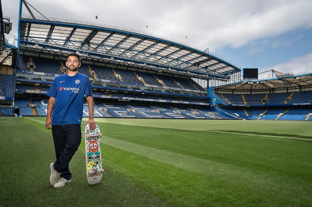 Skate session de Paul Rodriguez en el estadio del Chelsea